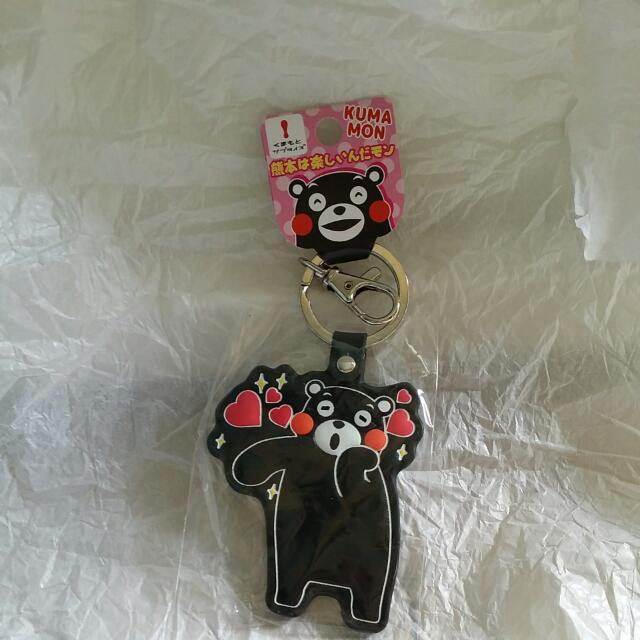 熊本熊鑰匙圈