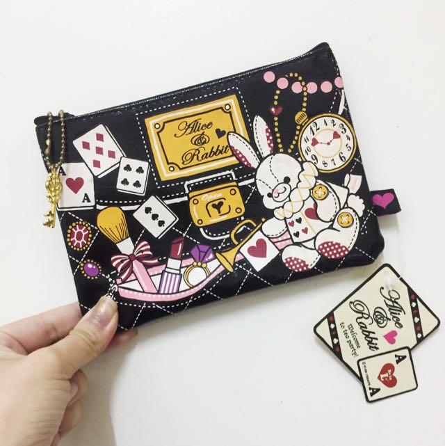 日本帶回❤️愛麗絲 化妝 小包包
