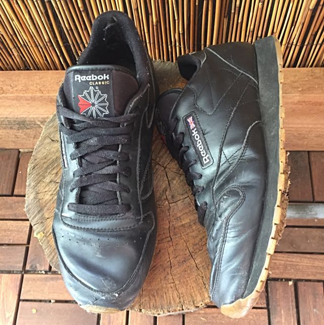 • Reebok • Leather Sneakers