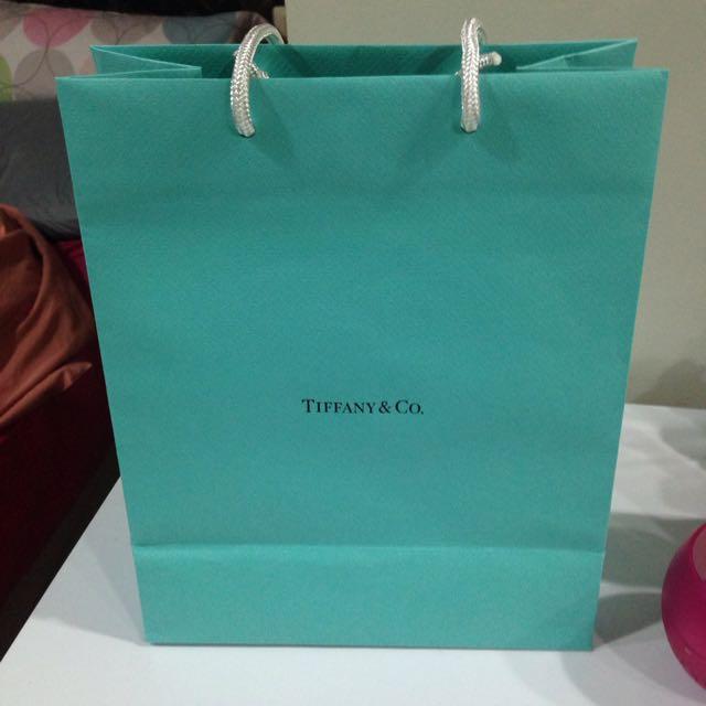 專櫃正品 Tiffany 提袋