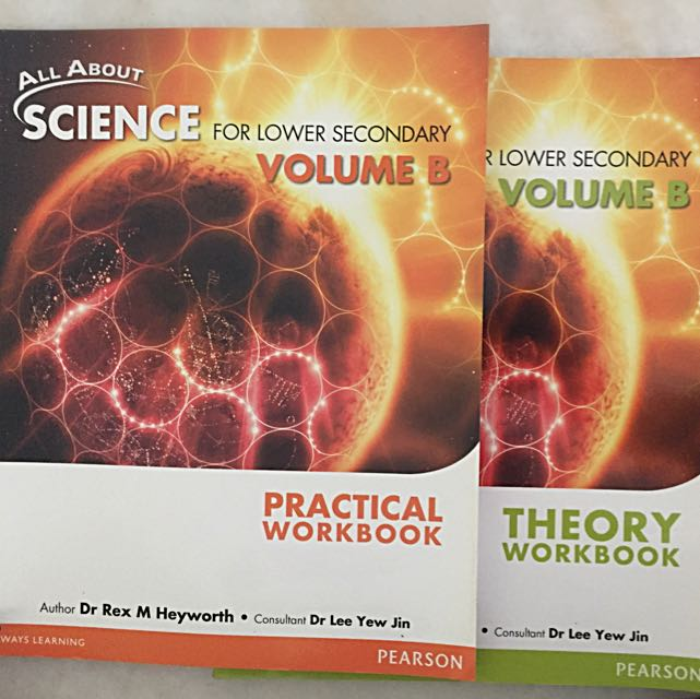 All About Science (Lower Sec) Practical Workbook And Theory Workbook