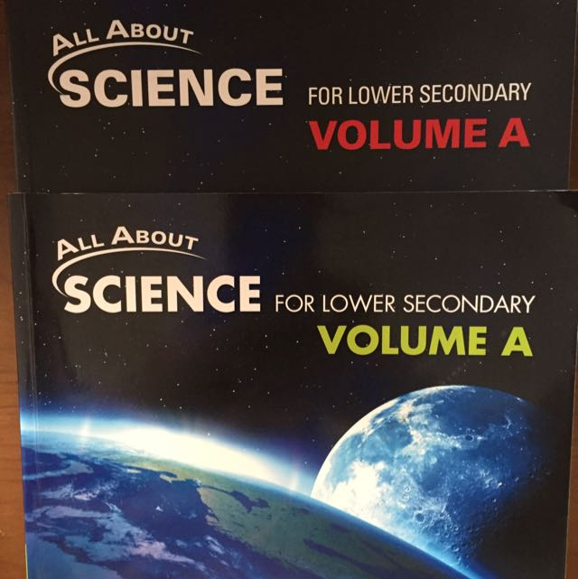 All About Science (Lower Sec) Theory Workbook And Textbook Volume A