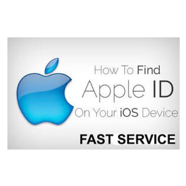 APPLE ID INFO / OWNER INFO FOR ALL TYPE OF IPHONE, Mobile