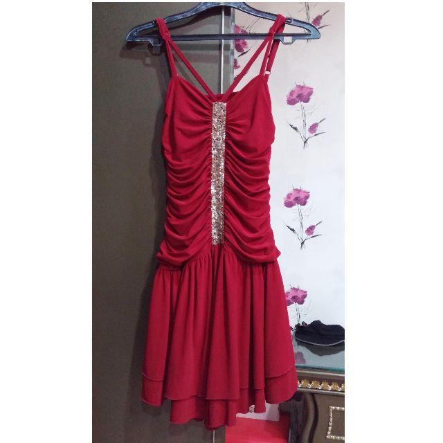 ARITHALIA RED DRESS