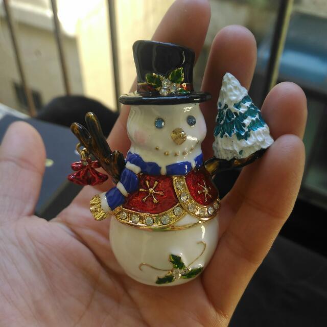 Art Form 華麗風聖誕節雪人造型裝飾品