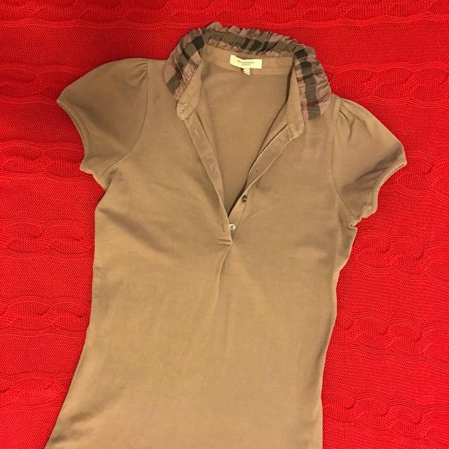 Authentic Burberry T Shirt (excellent Condition)