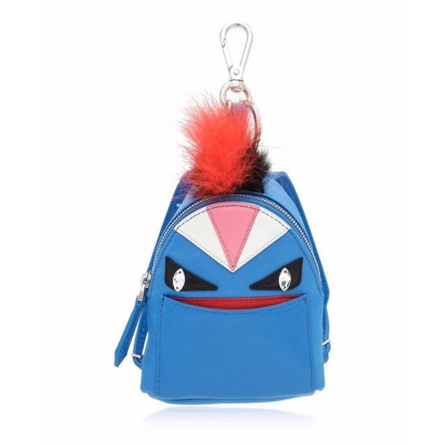 Authentic Fendi Bag Bugs Backpack Charm
