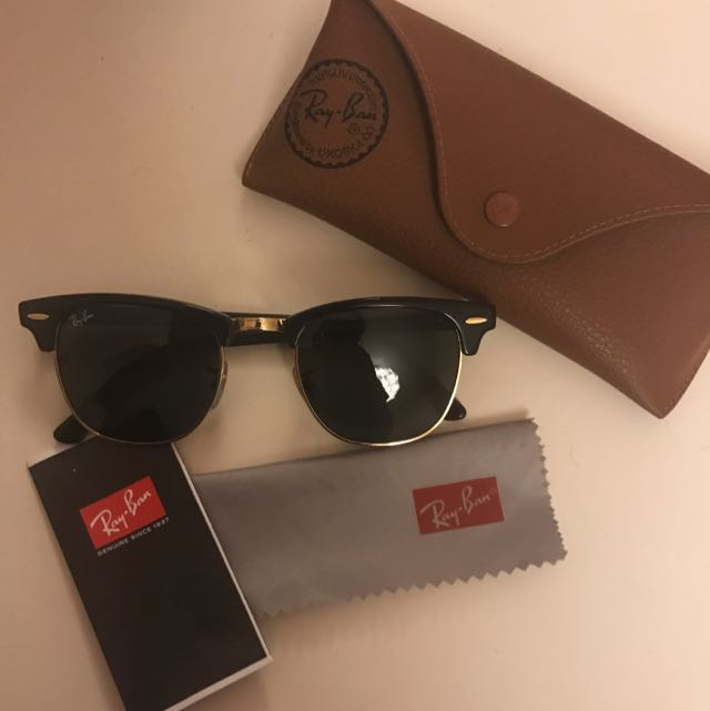 AUTHENTIC RAY BANS CLUBMASTER