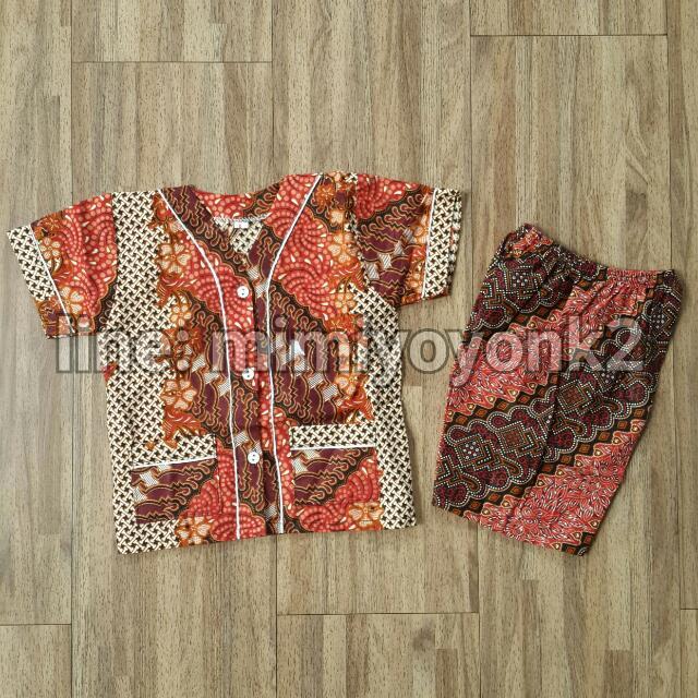 Baju Batik Anak 1 Tahun