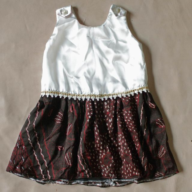 Batik with Ribbon Dress