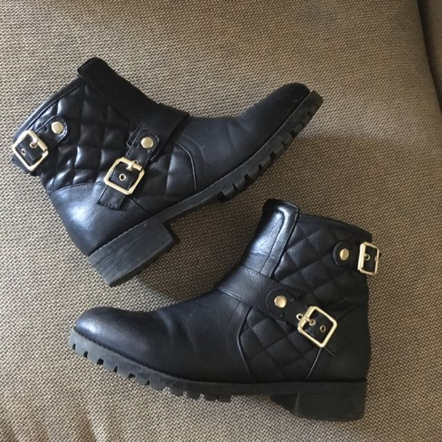 Black Boots, Size 38