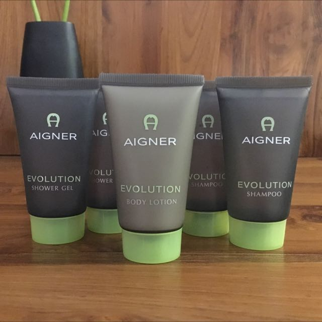 BN Aigner Evolution Shampoo, Shower Gel & Body Lotion