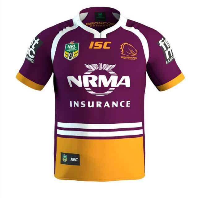 Brisbane Broncos 2017 Jerseys Size  XXXL