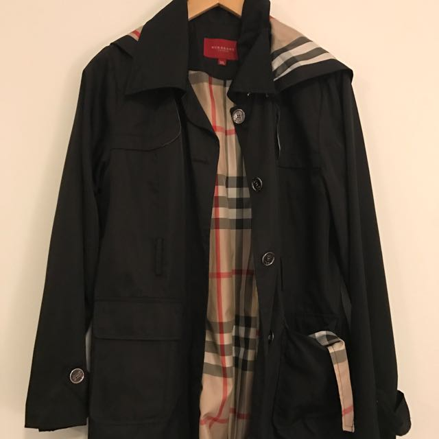 Burberry-like Rain Jacket