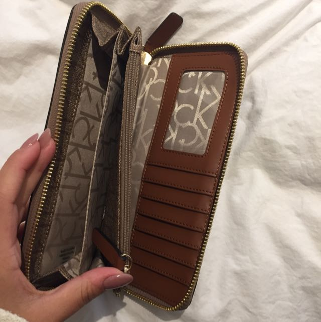 Calvin Klein Brown Wallet
