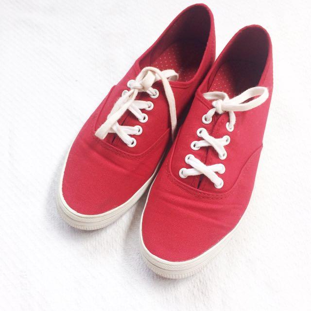 City Sneaks (Payless) Red Sneakers