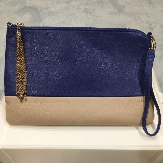 Clutch With Gold Tassel
