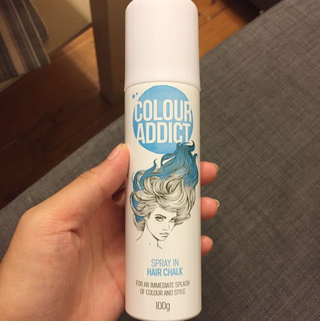 COLOUR ADDICT Spray in Hair Chalk in Blue 100 g