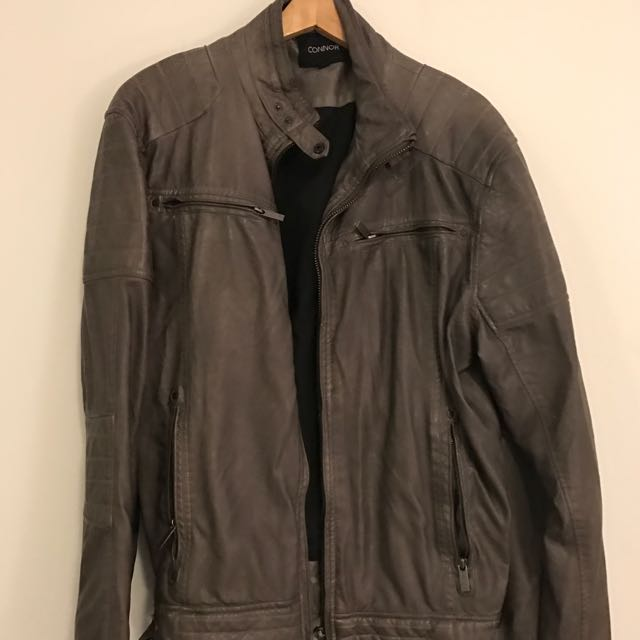 Connor Faux Leather Jackey