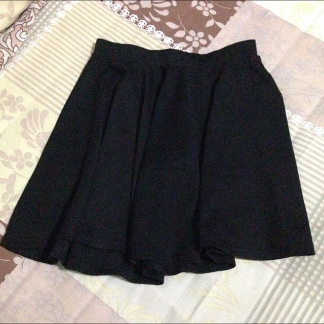 Cotton On Mini Black Skirt