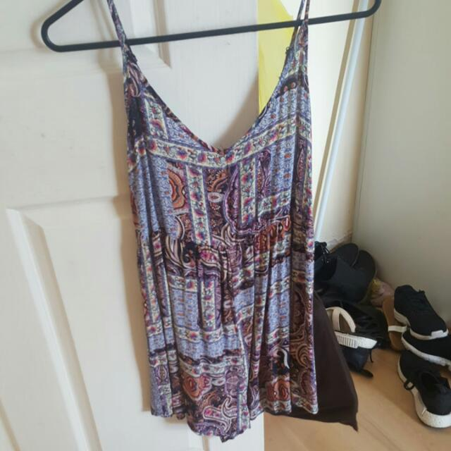 Cotton On Xs Playsuit Tribal Size 6