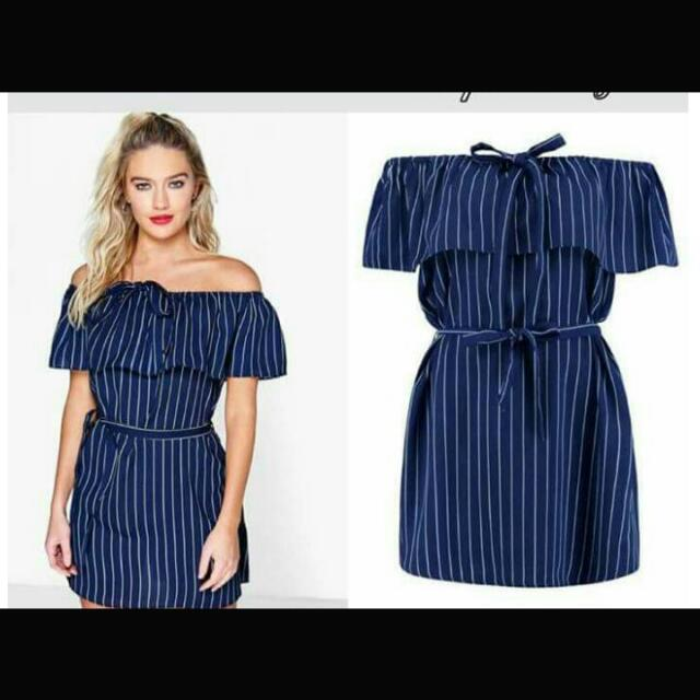 Denim Dress Fit To Large