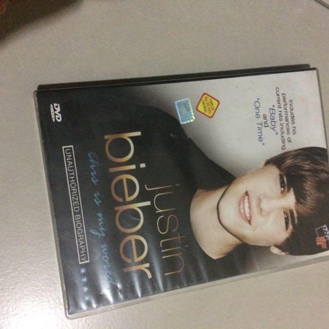 Dvd Justin Bieber