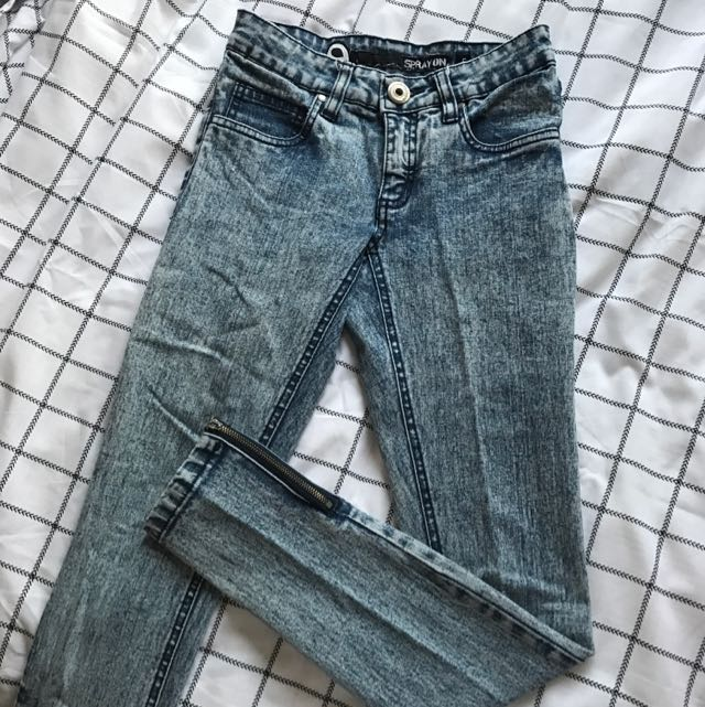 Factorie Spray On Jeans Size 6