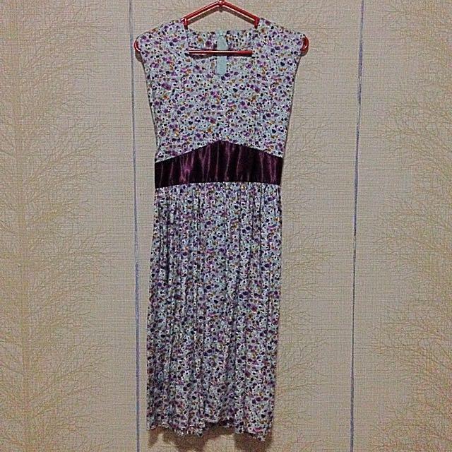 NEW Floral Semi Long Dress