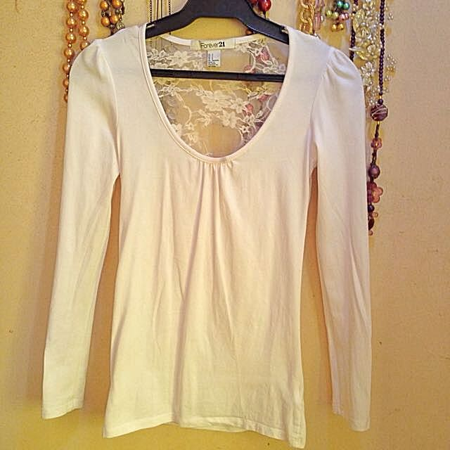 Forever21 Cotton Long Sleeve