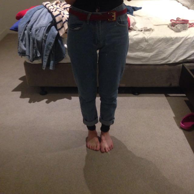 High waist Vintage Jean