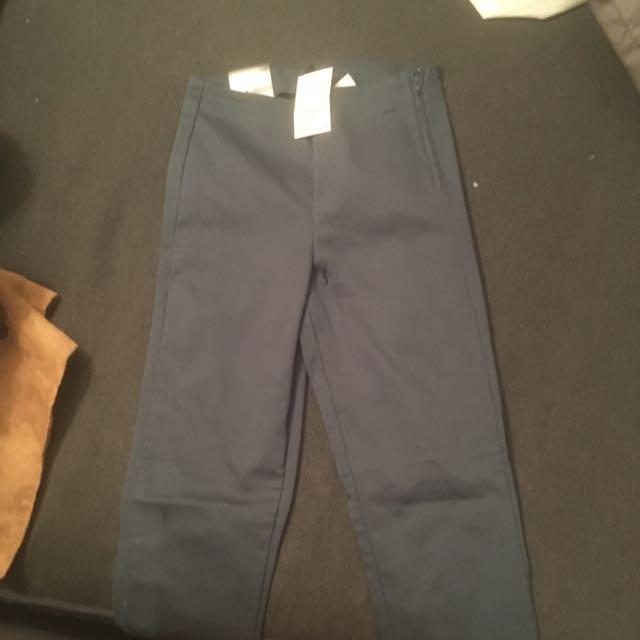 H&m Blue Skinny Pant