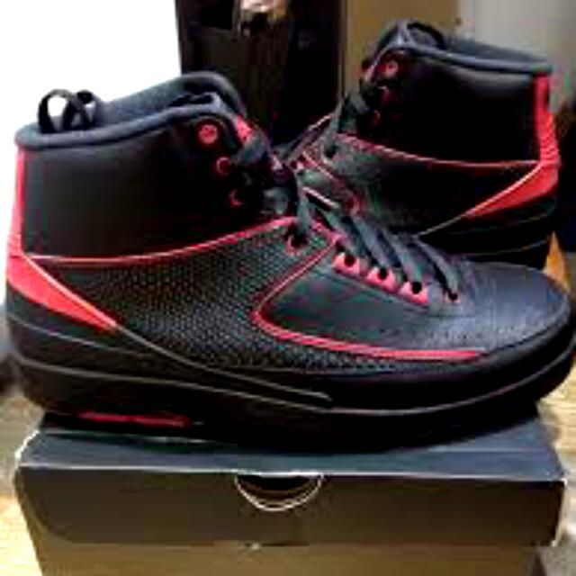 Jordan2 黑紅
