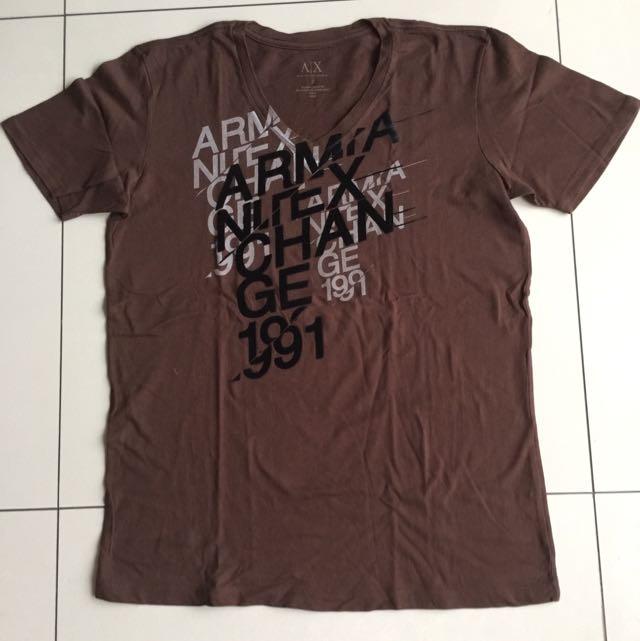 Kaos Armani Exchange Original