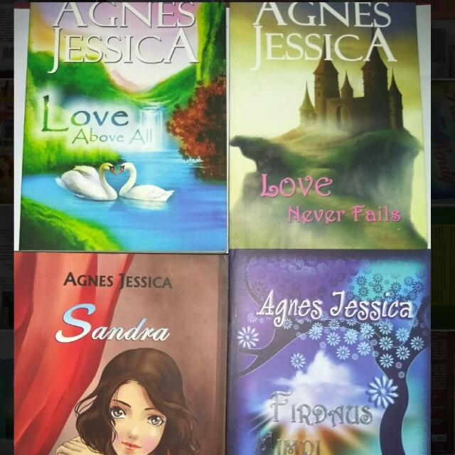 Koleksi Novel Agnes Jessica