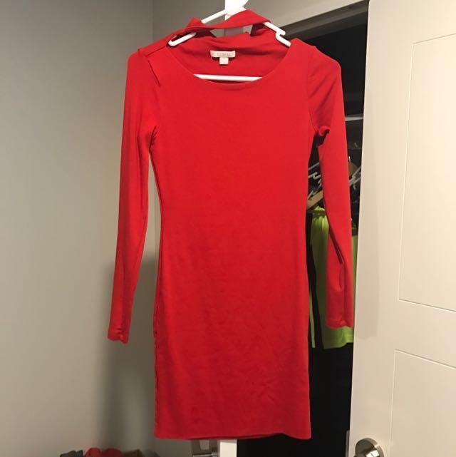 Kookai Dress red