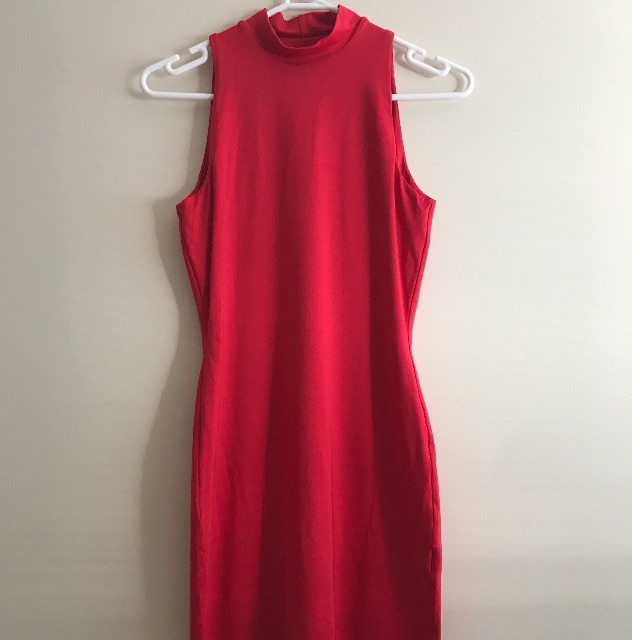 Kookai Red Polyester Dress Size 1