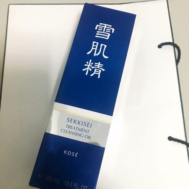 KOSE 高絲 雪肌精 淨透潔顏油 卸妝油 300ml