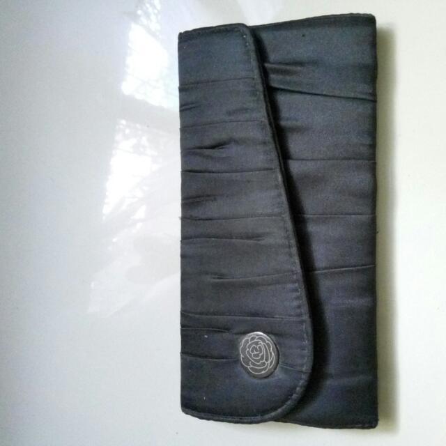 Lancome' Black Clutch