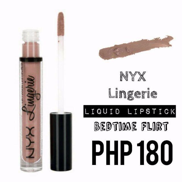 Liquid Lipstick | NYX | Lingerie | Bedtime Flirt