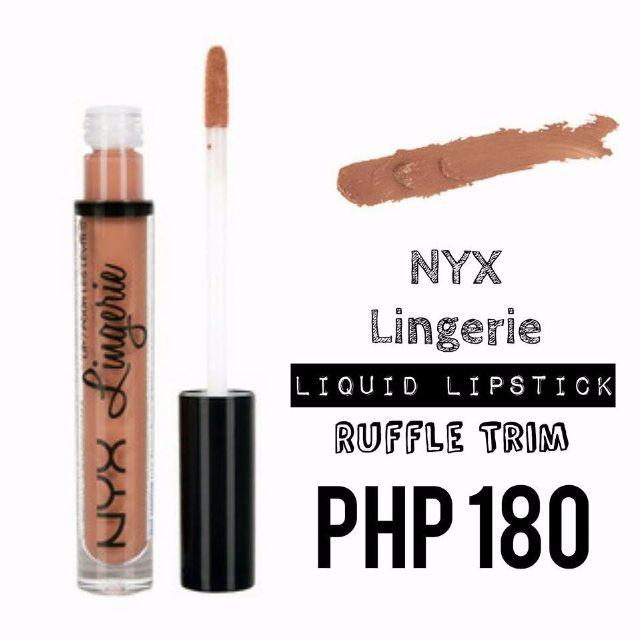 Liquid Lipstick | NYX | Lingerie | Ruffle Trim