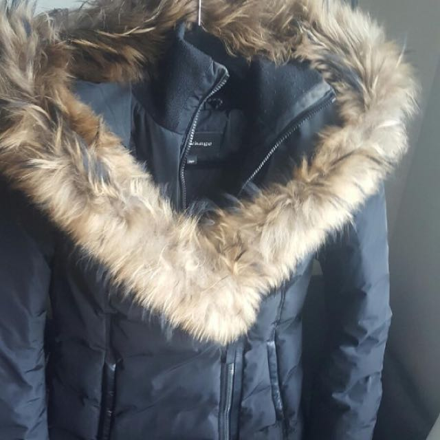 Mackage Adali Winter Down Coat With Fur