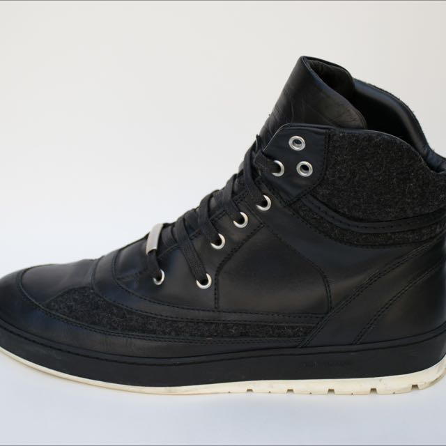 Men's Christian Dior High Top Sneaker