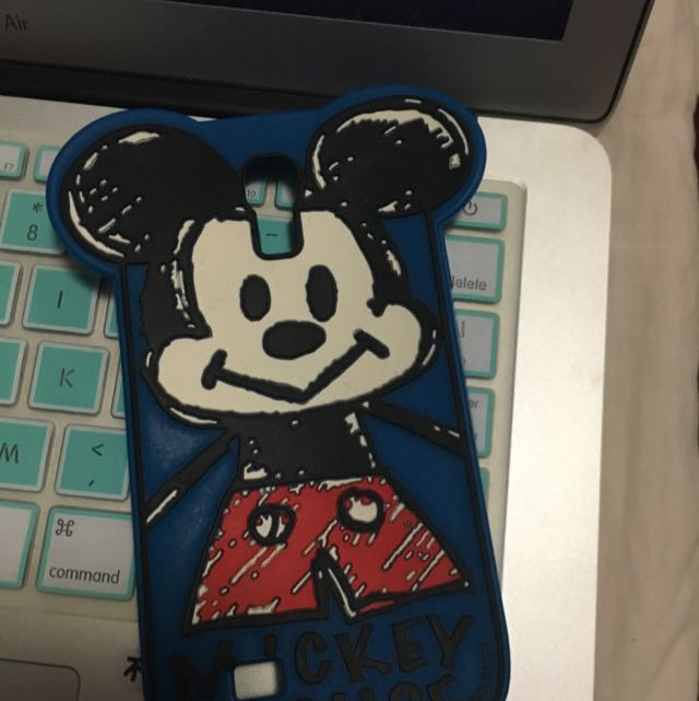 Mickey Mouse Samsung Galaxy S4 Phone Case