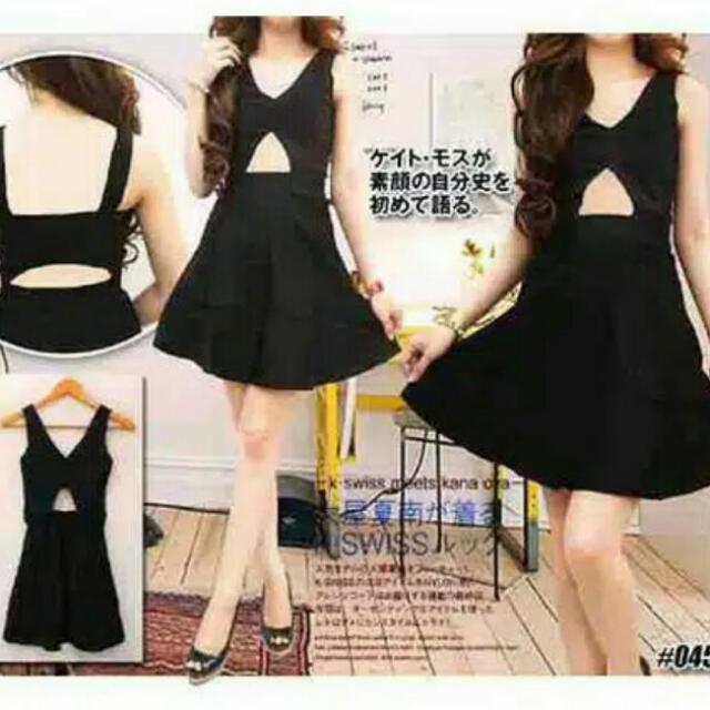 Mini Dress #size M saja Katun stretch 1 Warna
