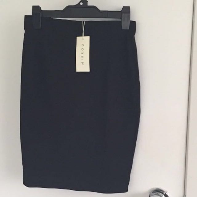 Mirrou Pencil Skirt
