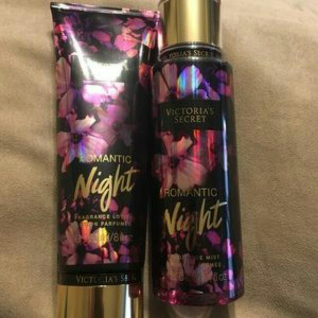 7c4867b219 ORIGINAL Victoria s Secret Romantic Night Fragrance Mist