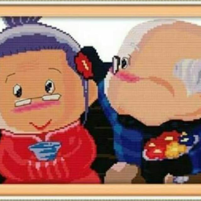 Paket Kristik Kakek Nenek