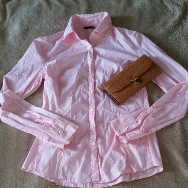 Pink Long Sleeves By Sisley
