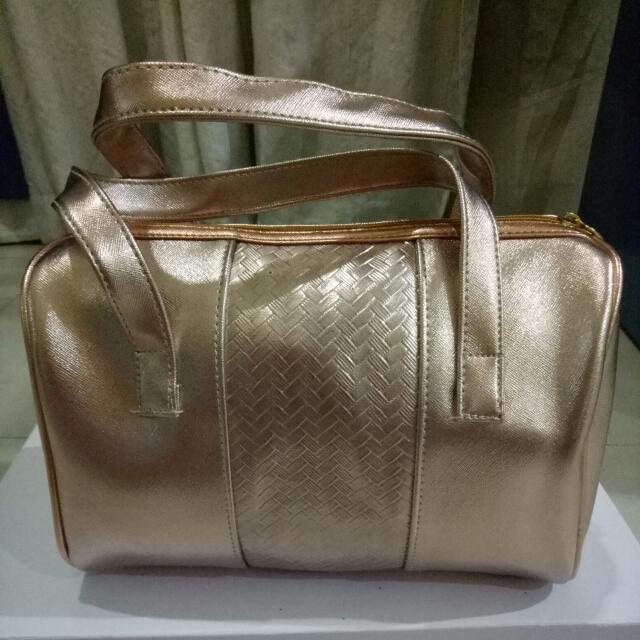 [new] Rose Gold Women Handbag